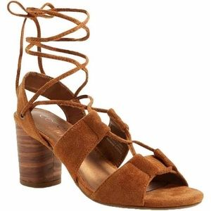Coconuts by Matisse City Saddle Ankle Wrap Heel